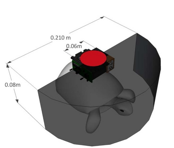 Diagram Parts Of A Turtle: Live Turtle Bot Maneuvered With Remote Control