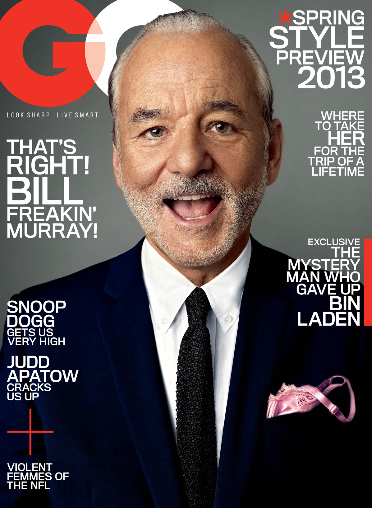 Bill Murray GQ Aimless