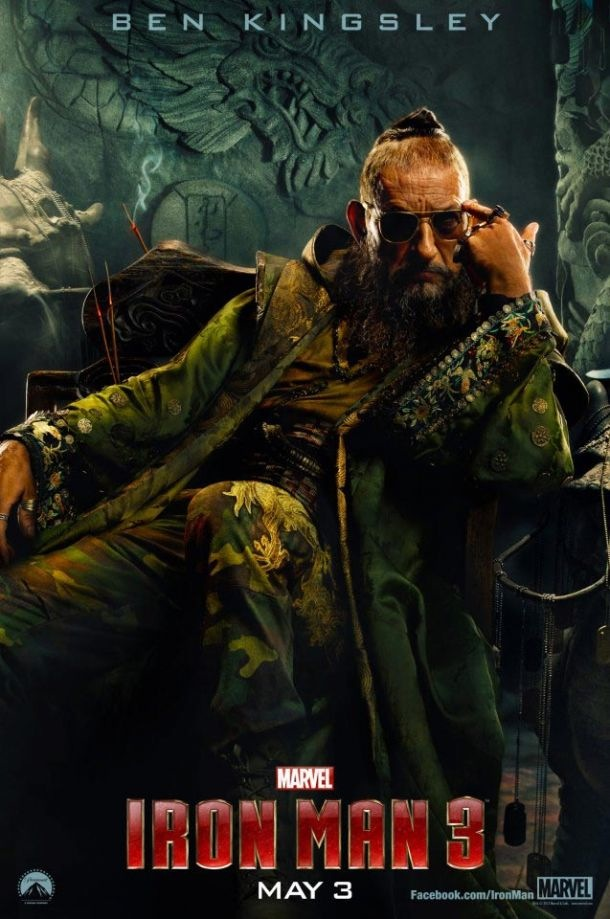Iron Man 3 The Mandarin
