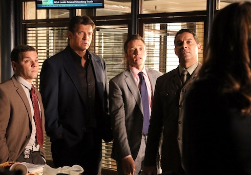Castle Co-stars Talk Crimefighting Without Beckett, Hazing the New Guy and the Rick Clique