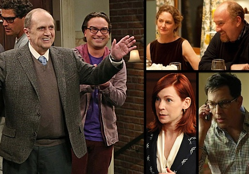 Emmys 2013: Bob Newhart Grabs His First Gold, Plus Wins for Carrie Preston, Scandal and Louie Stars; HBO's Candelabra Leads Early Pack