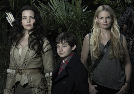 Ginnifer Goodwin, Jared Gilmore, and Jennifer Morrison on 'Once Upon a Time' (ABC)
