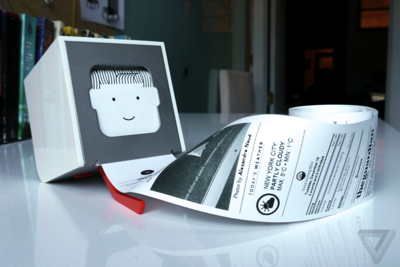 The design company behind the Little Printer is dead