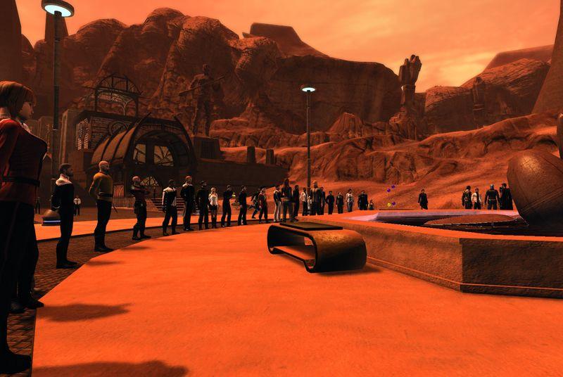 Star Trek Online game developers are building a digital memorial to Leonard Nimoy