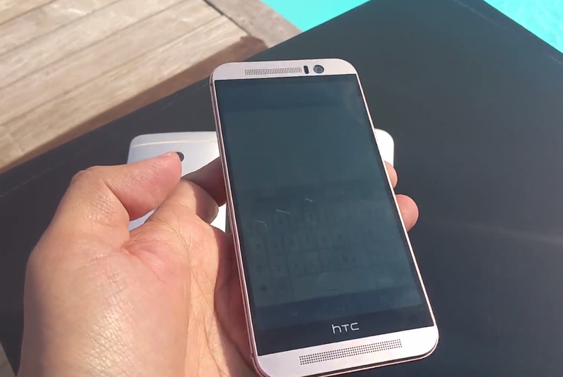 HTC One M9 hands-on video leaks onto the internet