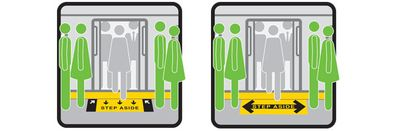 These stickers will not save the New York Subway