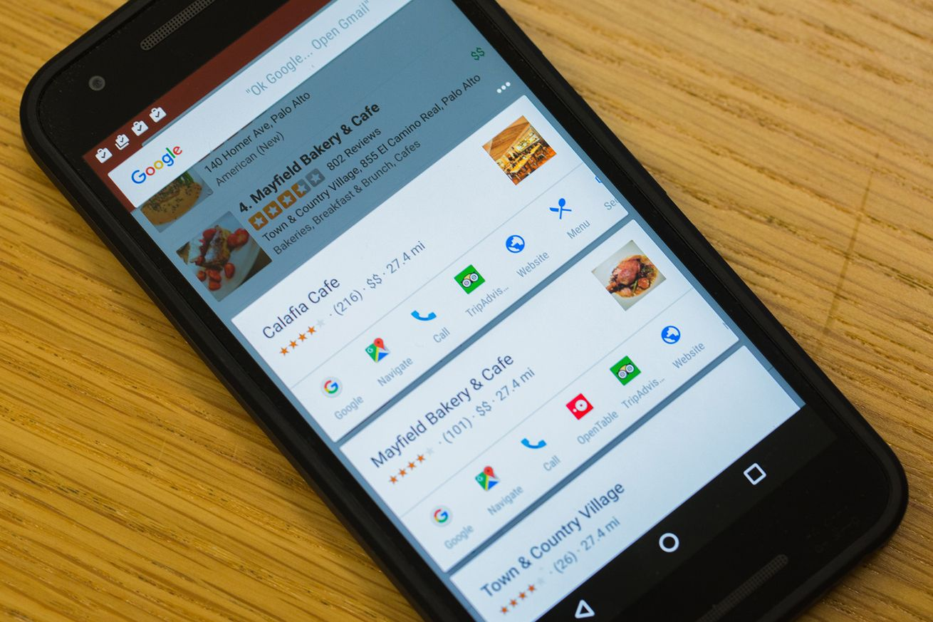 Google Now on Tap hands on