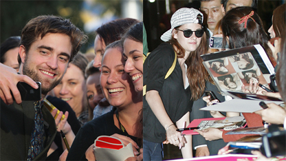 Robsten Hits The Promotional Trail, Separately