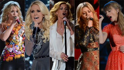 Which Lady Dominated The CMA's?