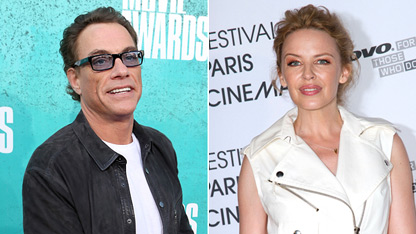 Van Damme Admits to Affair with Kylie Minogue