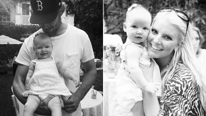 Jessica Simpson Tweets Family Photos