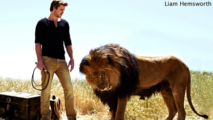 Liam Hemsworth: Actor Turned Lion Tamer