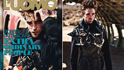 Robert Pattinson Covers L'uomo Vogue