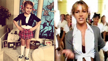 Britney Spears' Niece Dresses Up as Aunt