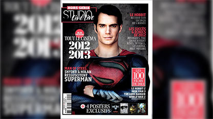 A Good Look at Henry Cavill as 'Man of Steel'