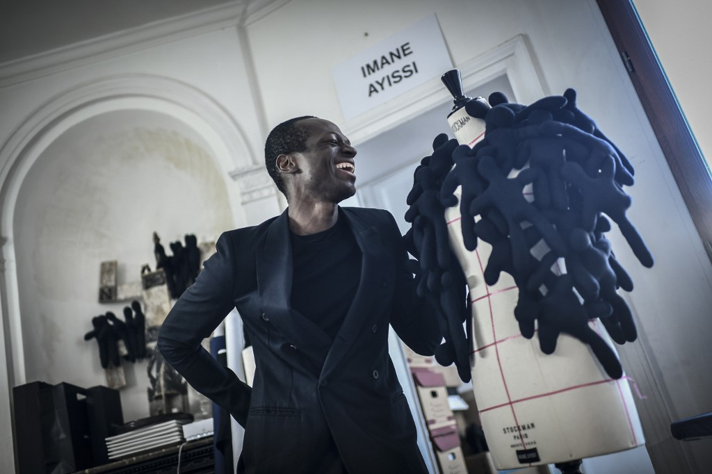 Designer Ayissi is first black African at fashions top table