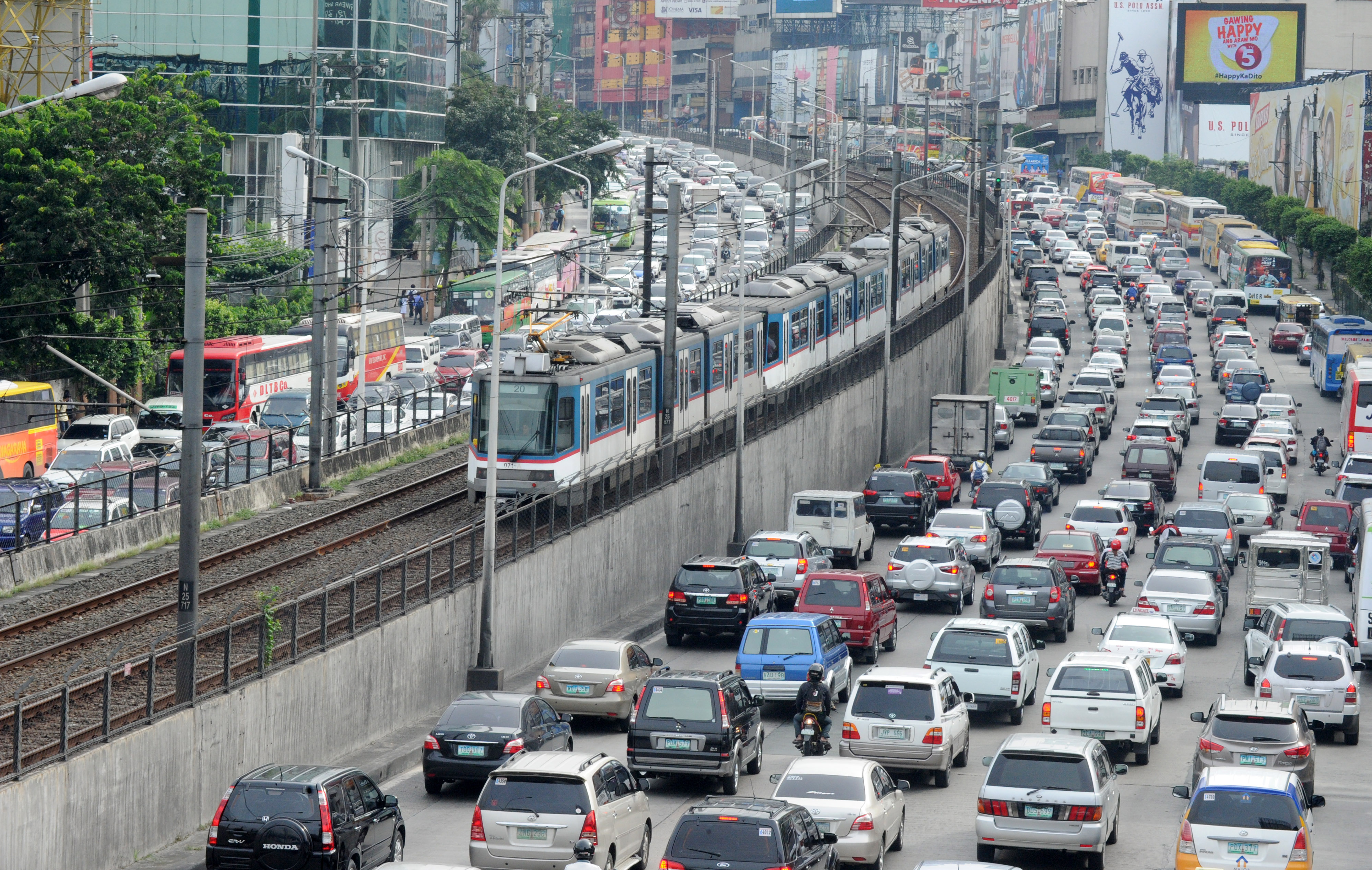 Bangalore and Manilla worlds worst cities for traffic