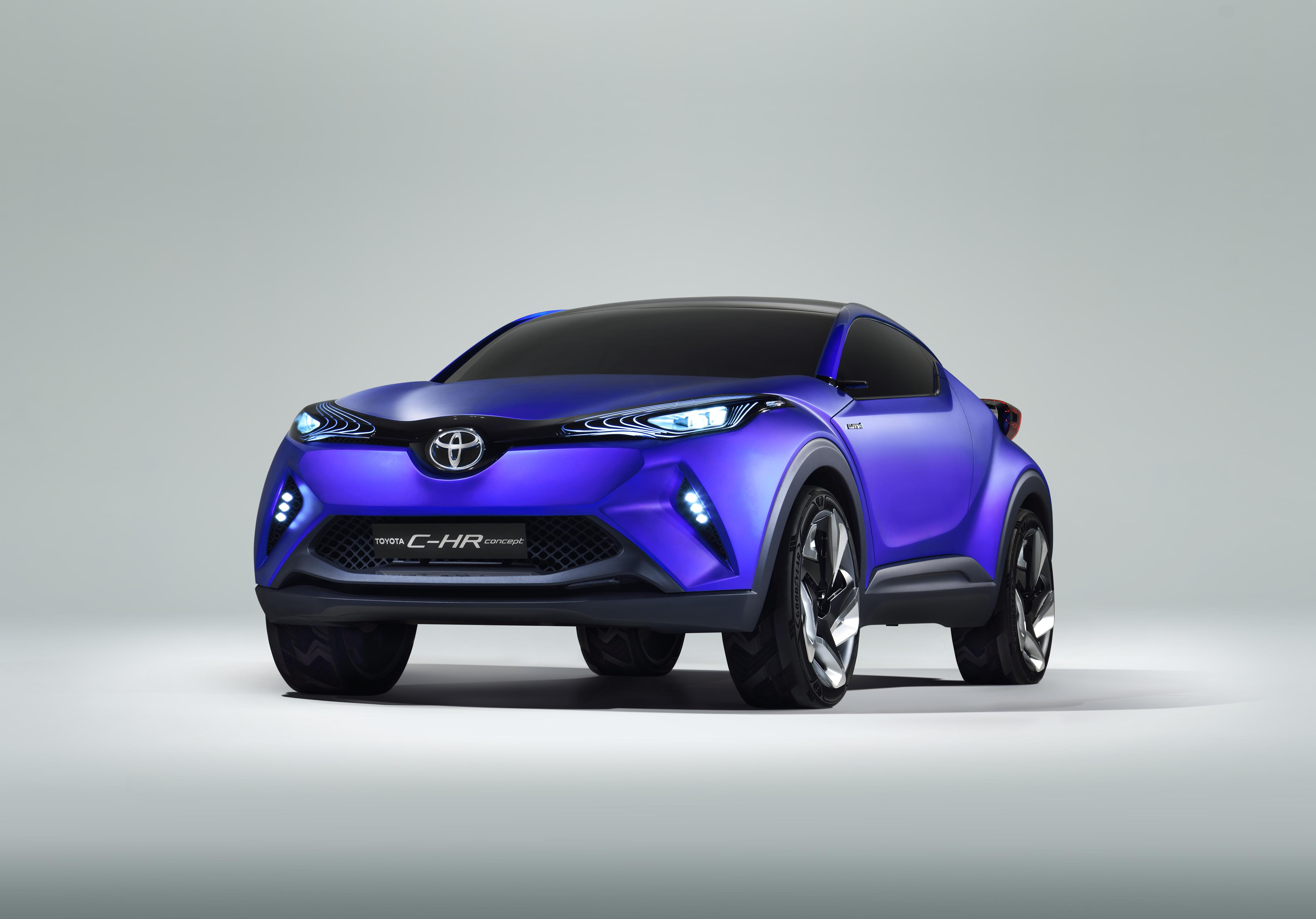Toyota C-HR Concept - Toyota,hints at baby SUV,latest concept car
