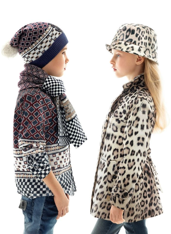 Roberto Cavalli reveals fall winter 2012 kids collection