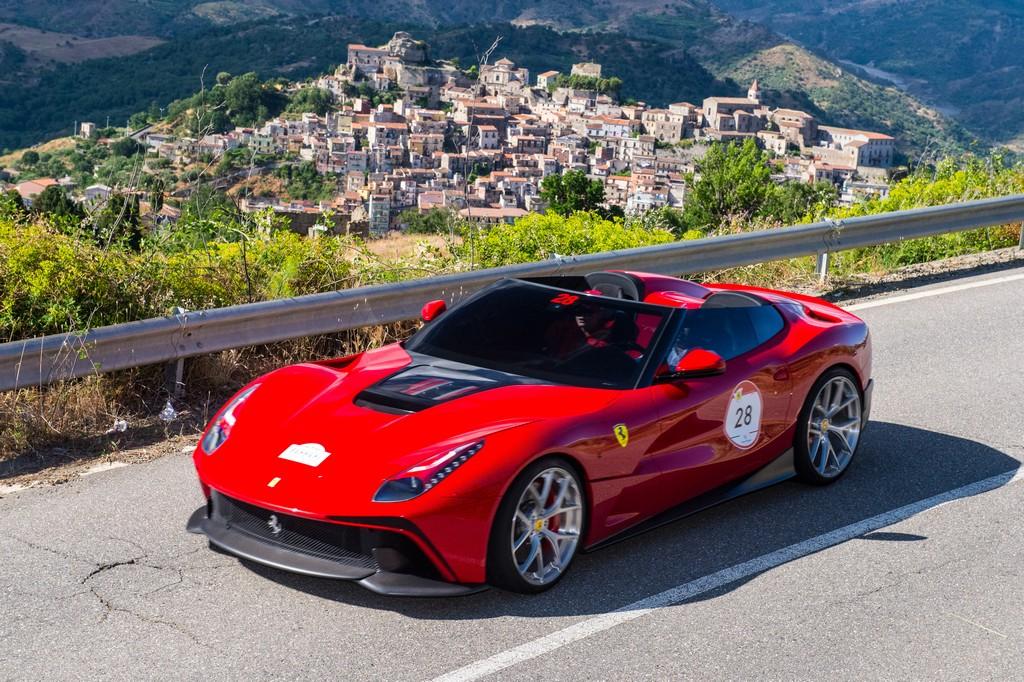 The custom-made Ferrari F12 TRS