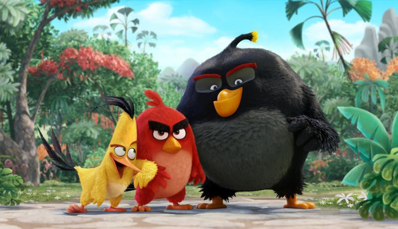 'Angry Birds' tops North American box office