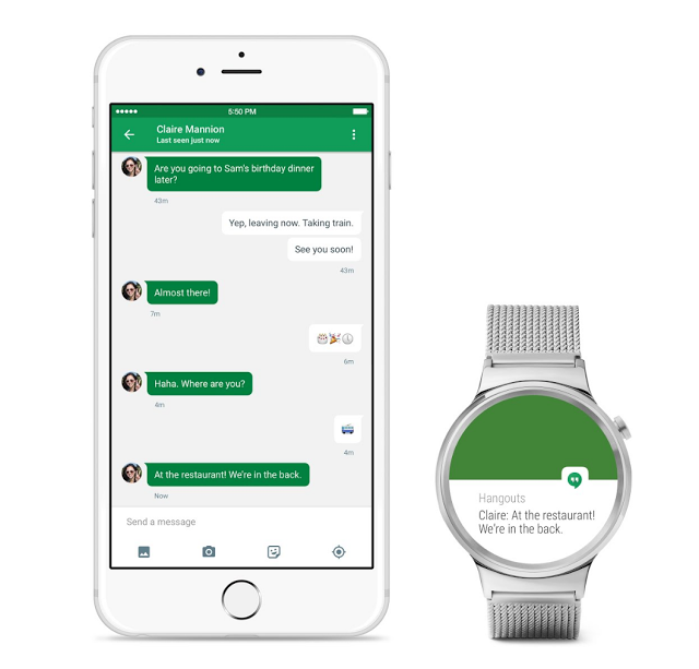 Google rolls out Android Wear for iOS