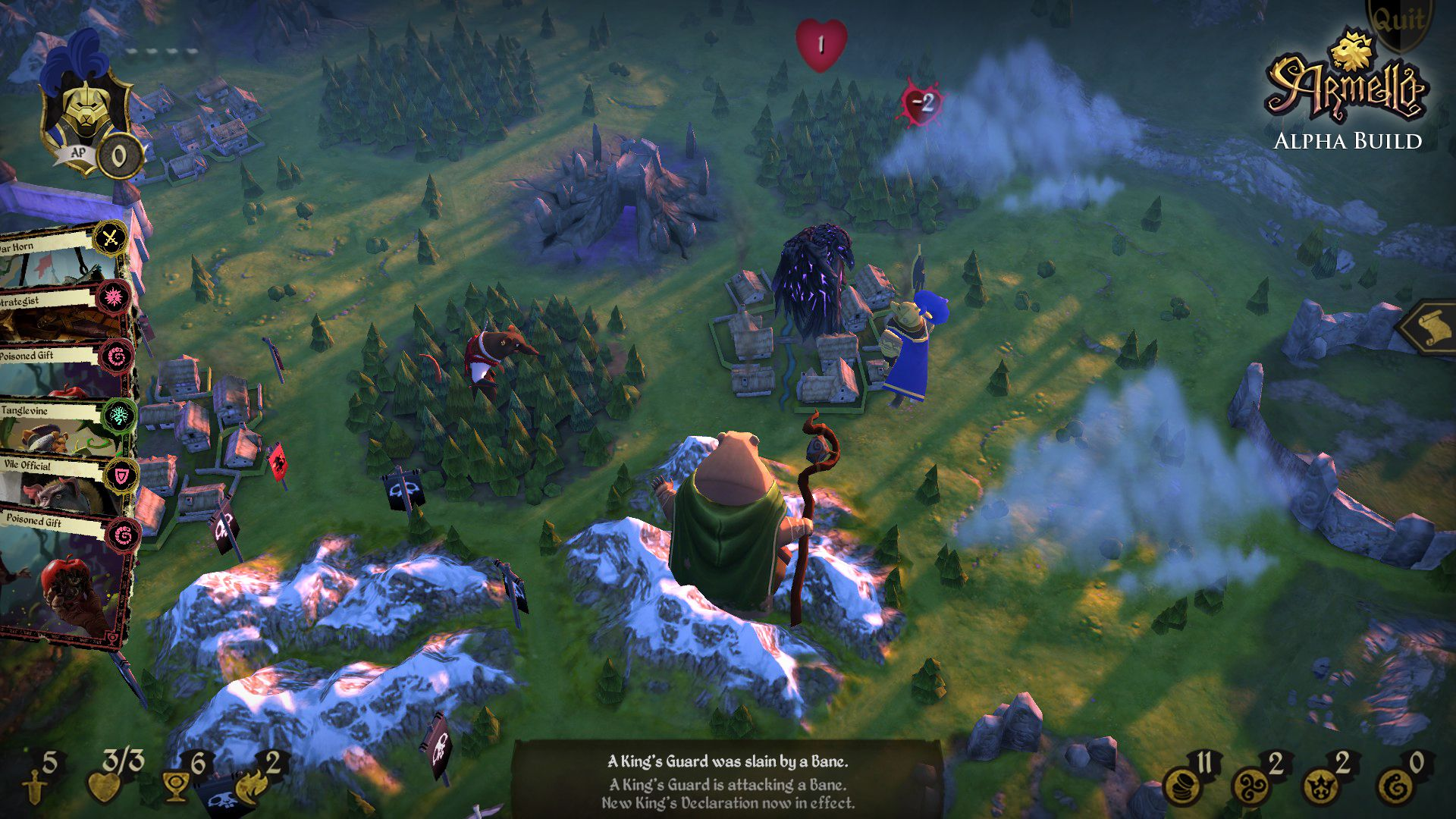 'Armello' pitch mixes board, card and video games