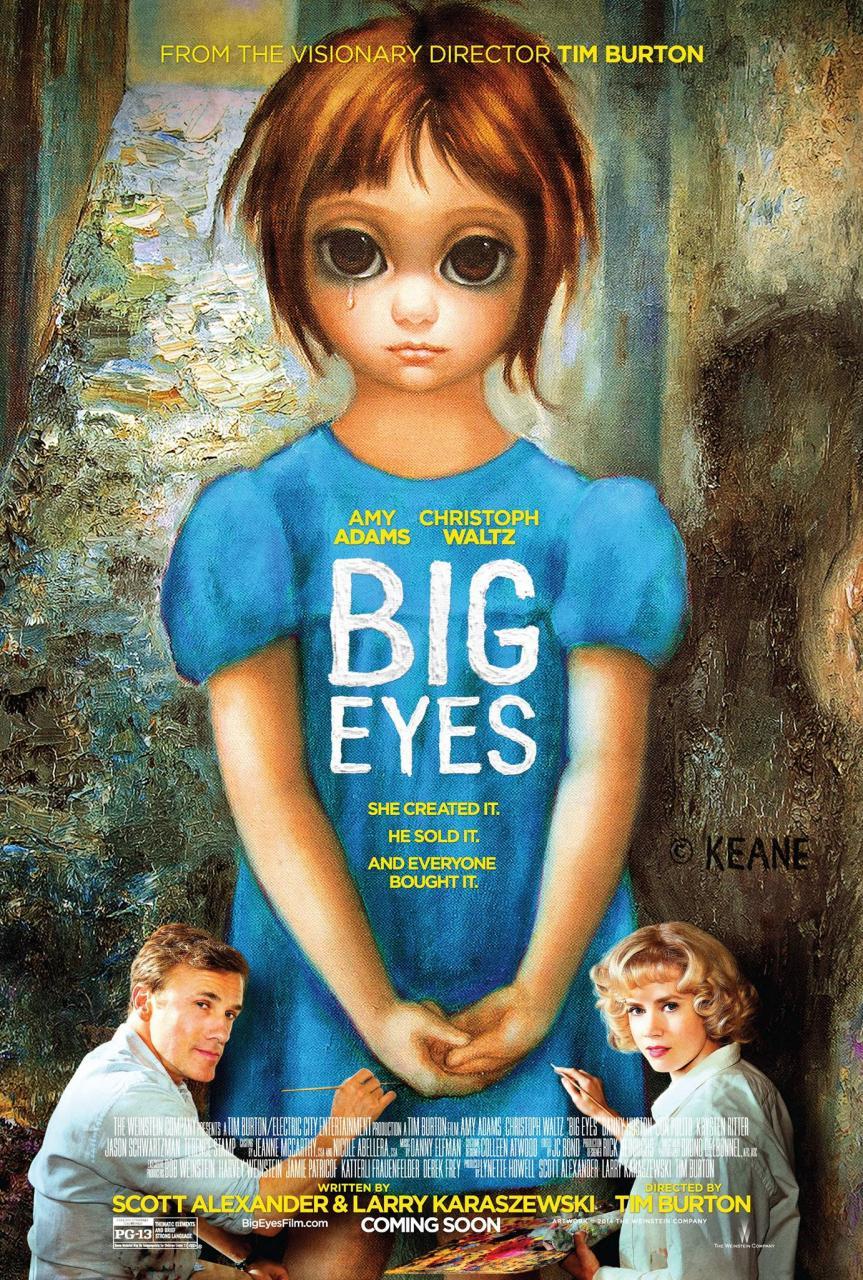 დიდი თვალები (ქართულად)  - Big Eyes / Большие глаза (2014)