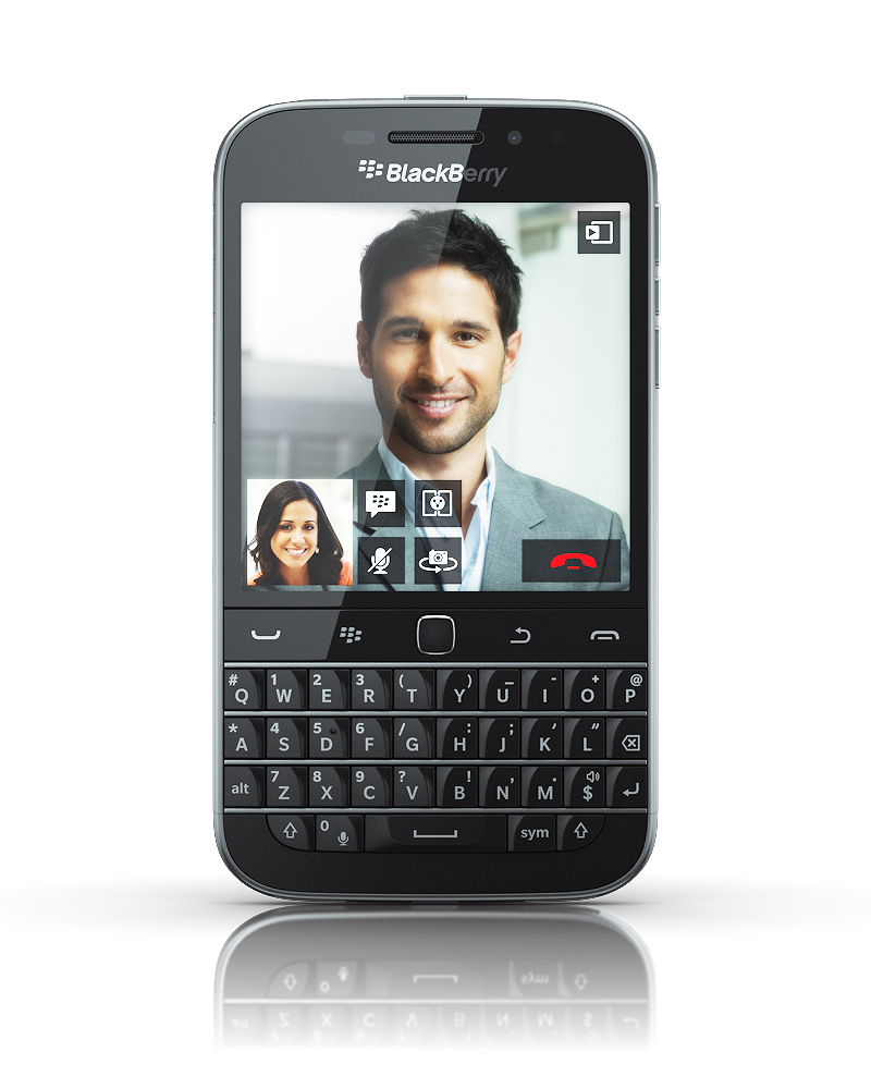 BlackBerry returns to its roots with the Classic