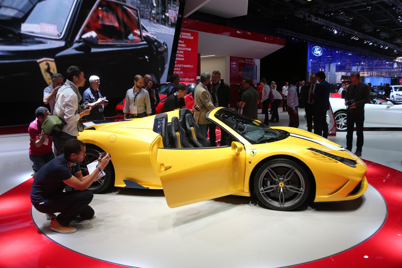 The Ferrari 458 Speciale A