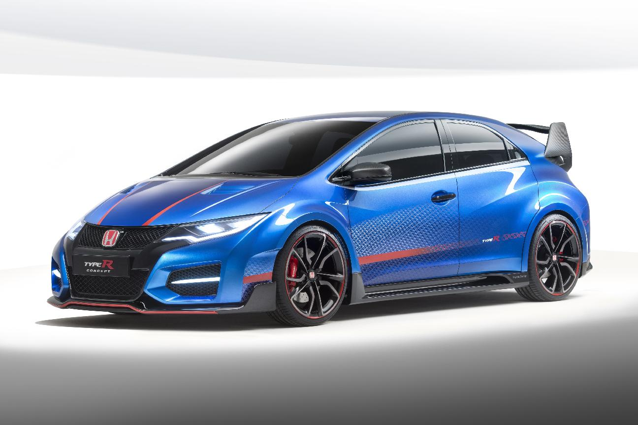 Civic Type R Concept- Honda revs up for Paris with hot Civic Type-R