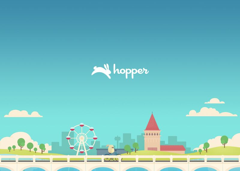 Hopper app introduces easy flight booking and an Android version