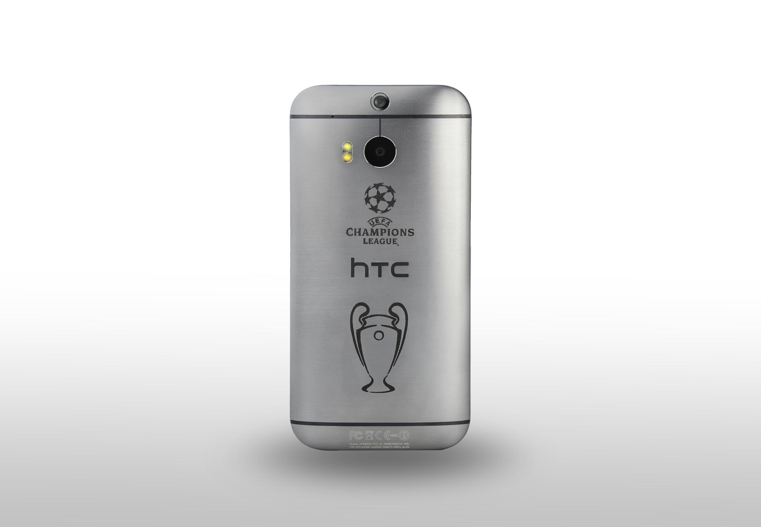 HTC One (M8) gets Champions League collector's edition
