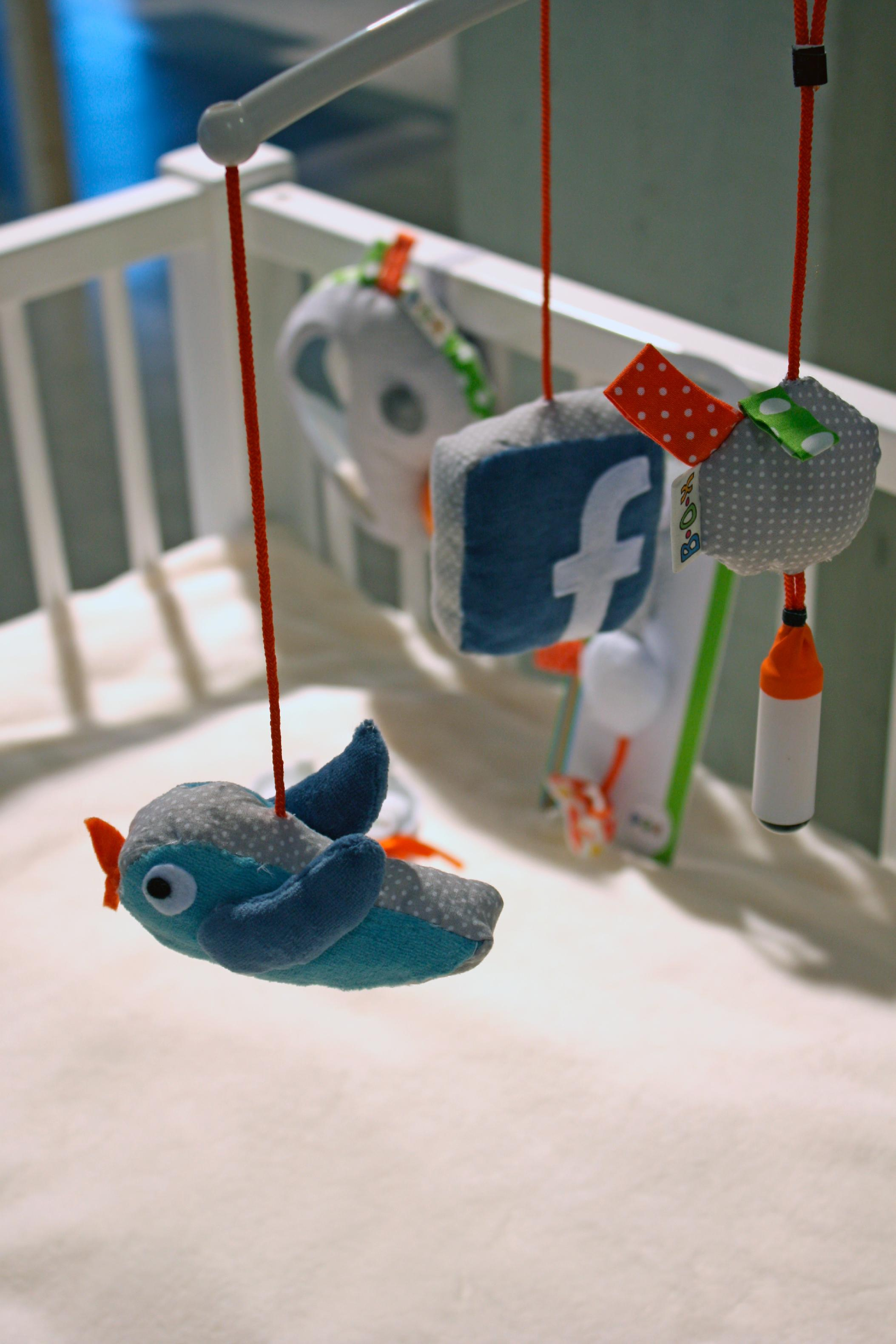 The soft toys that automatically post your baby's selfies to Facebook