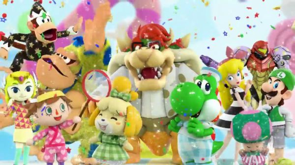Nintendo stars given colorful makeover in new ad