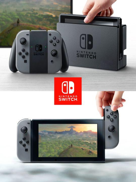 Nintendo unveils versatile Switch console