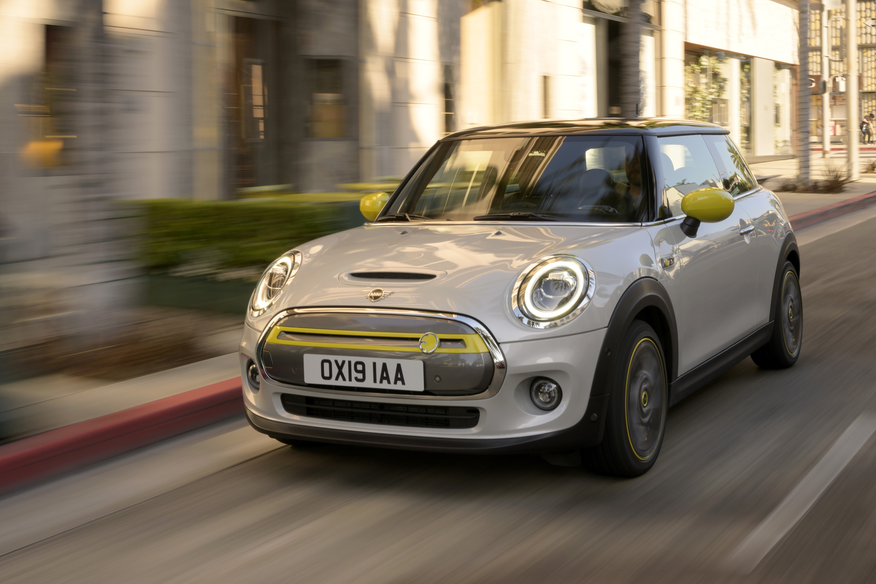 The first all-electric Mini will be available in September, starting at around €35,000