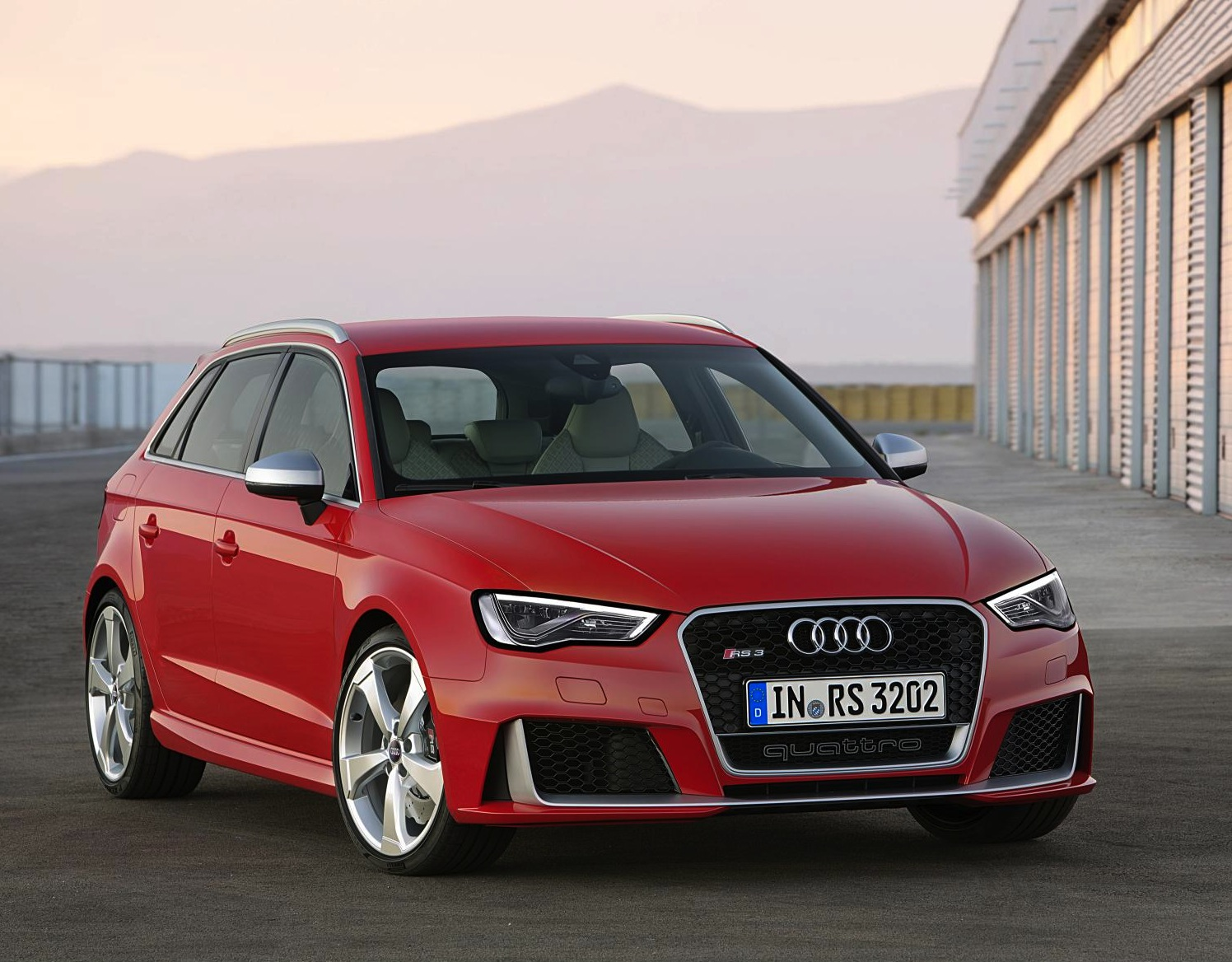 Audi's new pocket rocket, the RS3 Sportback, starts around £40,000