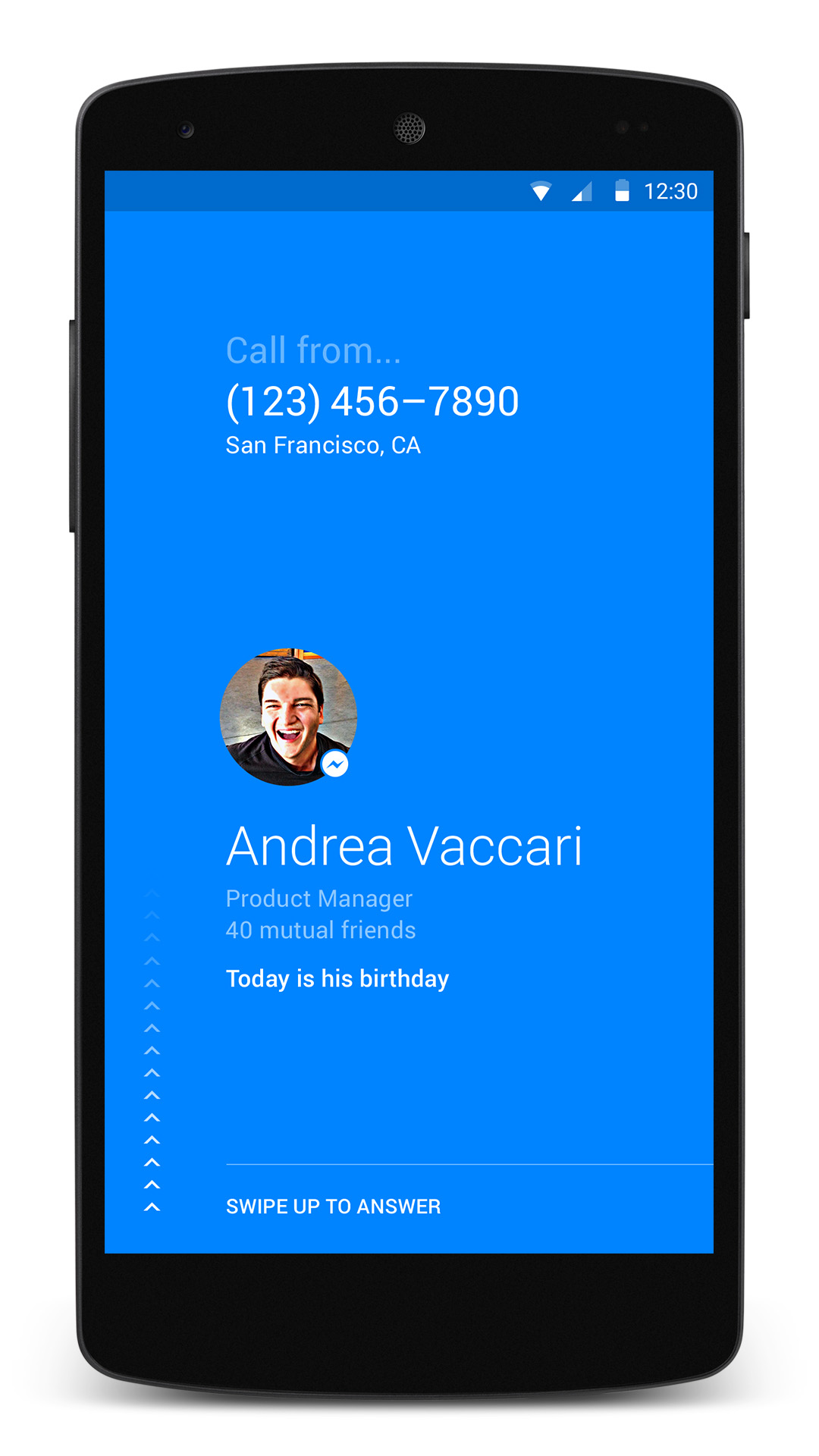 Facebook intros a calling app for Android phones