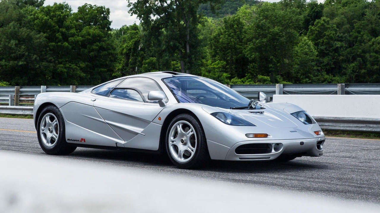 Very rare first USA-spec McLaren F1 to be auctioned