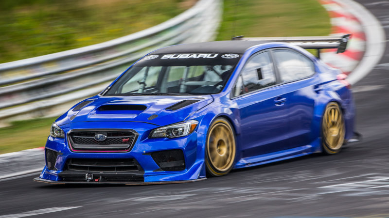 WRX STI Type RA NBR achieves incredible Nurburgring lap time