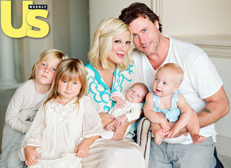 "Tori Spelling: Husband Dean McDermott Is a ""Super Dad"""