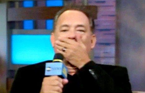 Oops! Tom Hanks Says the F-Word on Good Morning America