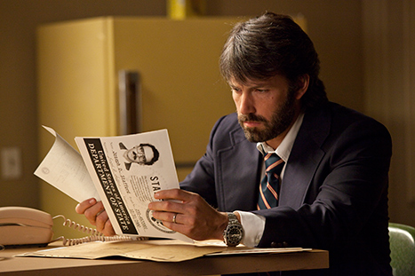 Ben Affleck&#39;s Argo Tops Weekend Box Office