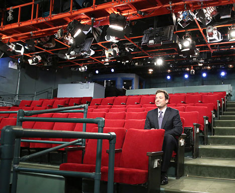 Sandy: Jimmy Fallon, Dave Letterman Tape Without Audiences