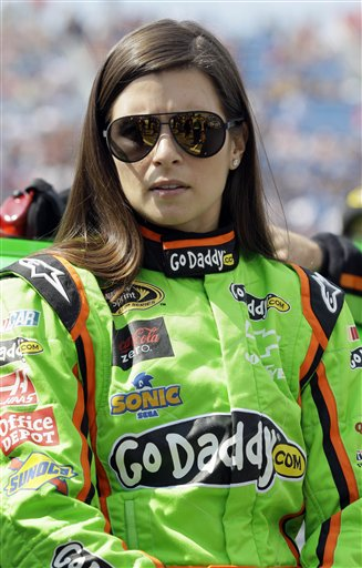 Danica Patrick has appeared in 22 Go Daddy commercials over the past five years. (AP)