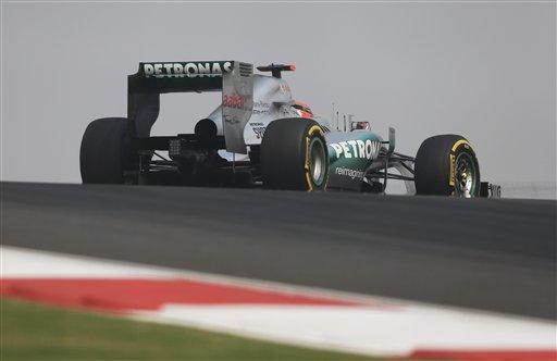 Гран-При Индии 2012, Михаэль Шумахер