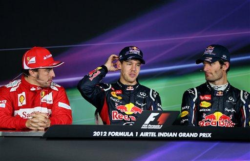 Гран-При Индии 2012, гонка. Марк Уэббер