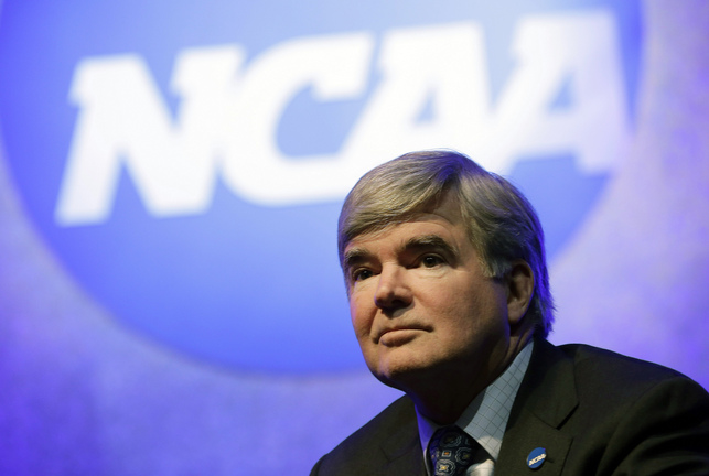 NCAA president Mark Emmert is having his enforcement division reviewed. (AP)