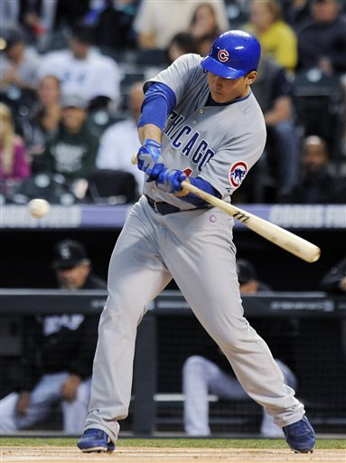 Anthony Rizzo figures prominently in the Cubs' future. (AP)